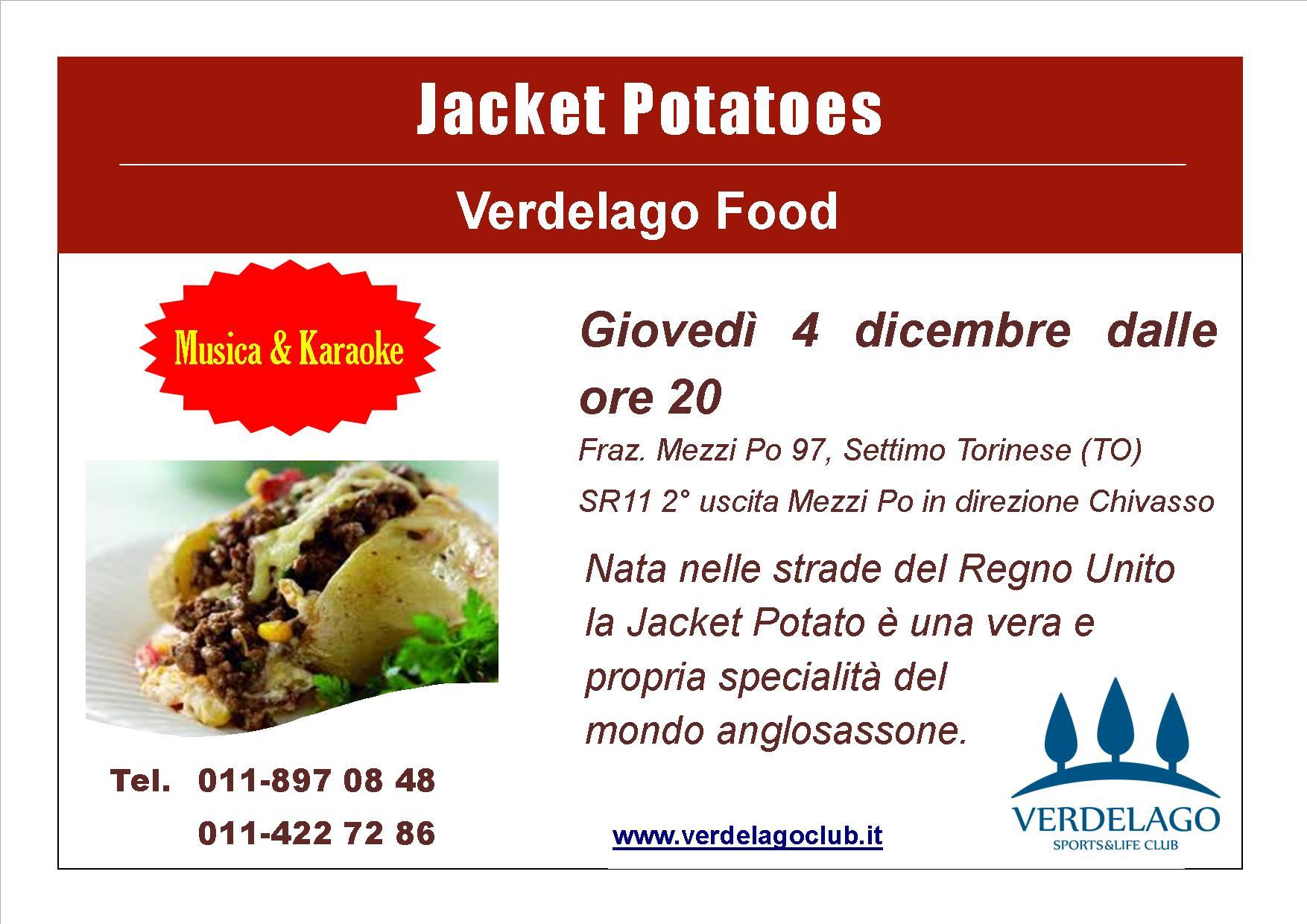 Jacket Potatoe 4 dicembre 2014