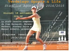 Tennis, Presentazione Scuola SAT