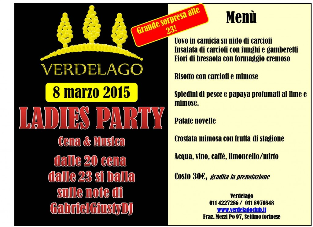 Festa della donna 8 marzo 2015 r5 festa di domenica