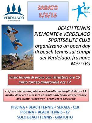 locandina beach tennis