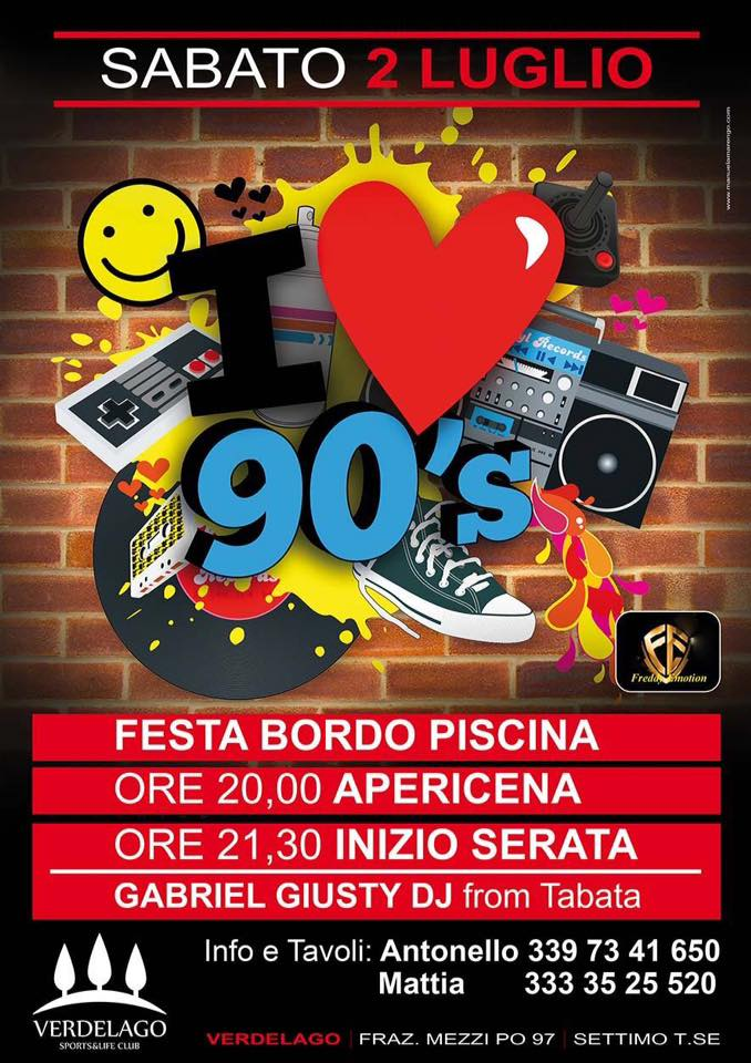 party anni 90