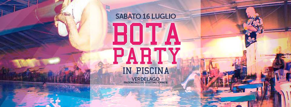 banner bota party